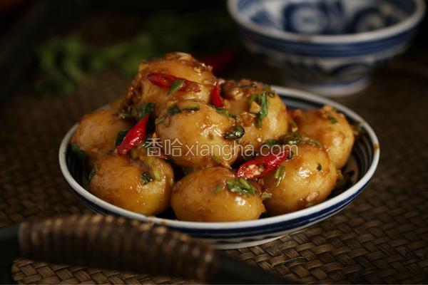 蒜泥醬香小土豆