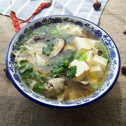 豆腐三菌汤