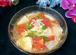 西红柿豆皮汤