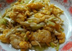 韭王炒鸡蛋