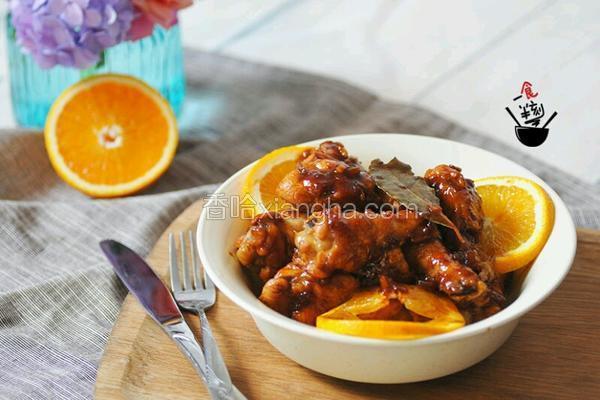 橙香小鸡腿