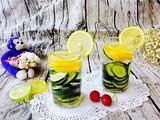 黄瓜柠檬水的做法[图]