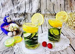 黄瓜柠檬水