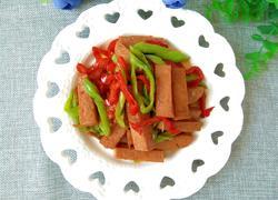 辣椒炒午餐肉