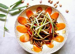 新鲜茶树菇小炒