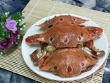 葱姜炒花蟹的做法[图]