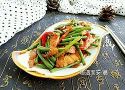 长豆角炒肉