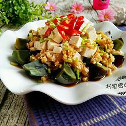 松花拌豆腐