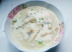 皮蛋鱼片汤