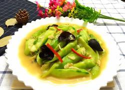 虾皮炒丝瓜