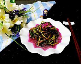 清炒红苋菜[图]