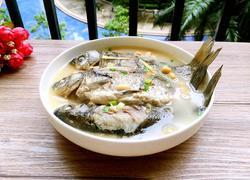 鲫鱼黄豆汤