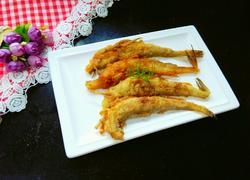 椒盐龙头鱼