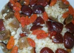 红枣枸杞燕麦鸡蛋羹(懒人早餐)