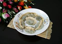 菠菜馅饺子