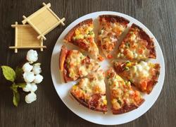 培根芝士披萨