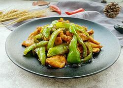 瘦肉炒青椒