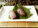 西米紫薯卷的做法[图]