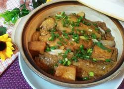 油豆腐小黄鱼煲