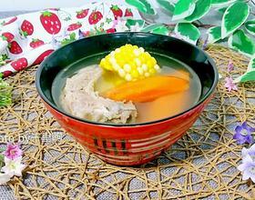 排骨胡萝卜玉米汤[图]