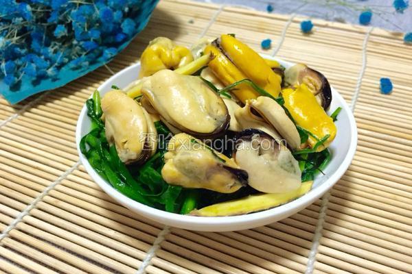 韭菜炒淡菜