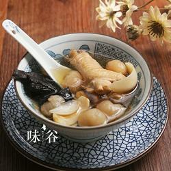 灵芝桂圆清鸡汤