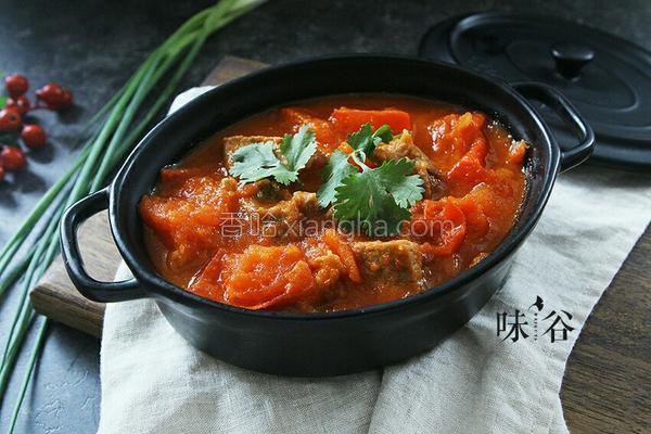 牛腩番茄汤的做法