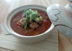 砂锅牛腩柿子