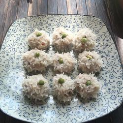 糯米牛肉虾丸