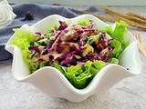 紫甘蓝蔬菜沙拉的做法[图]