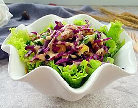 紫甘蓝蔬菜沙拉