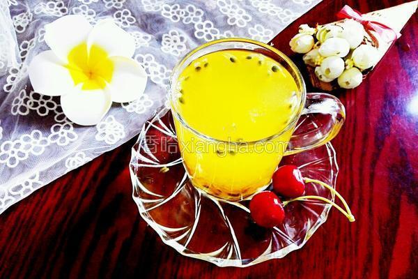 百香果绿茶