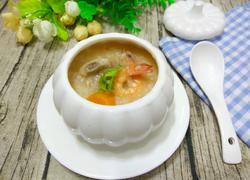 排骨鲜虾粥