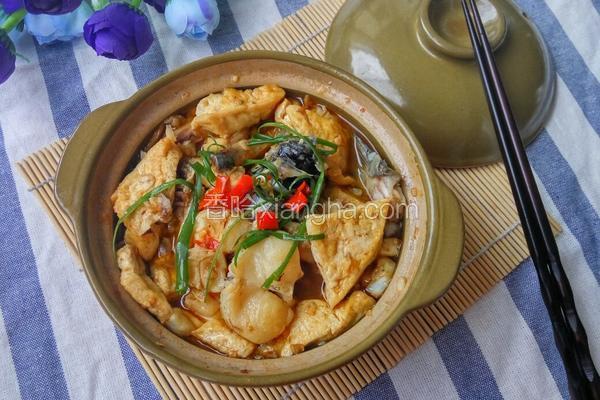 红烧草鱼豆腐
