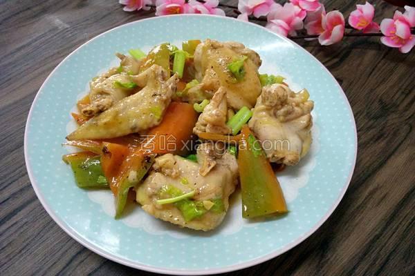 青椒炒鸡的做法