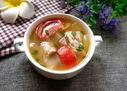 蔬菜肉片汤