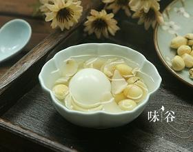 莲子百合鸡蛋糖水[图]