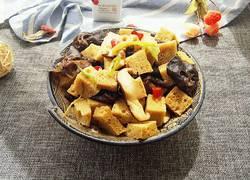 烤麸香菇黑木耳