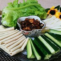 东北蘸酱菜