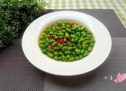 剁椒腌毛豆