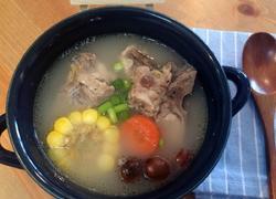 栗子蔬菜龙骨靓汤