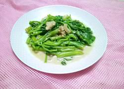 腐乳炒通菜