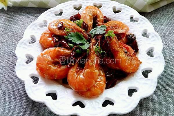 麻辣基围虾