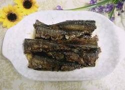 酱煎秋刀鱼