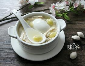 白果腐竹糖水[图]