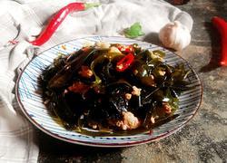 肉炒海带丝
