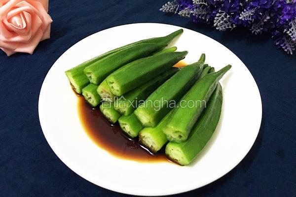 蒸排骨的家常做法_清烫秋葵的做法_菜谱_香哈网