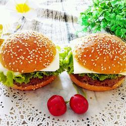 汉堡牛肉饼