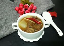清炖白萝卜牛腩汤