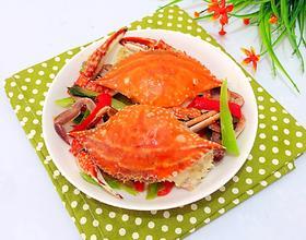 青红椒炒蟹[图]